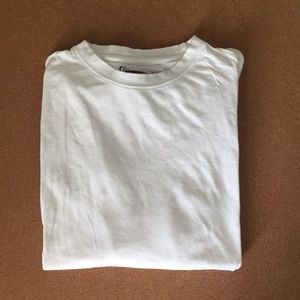 Plain White Long Sleeve Tee